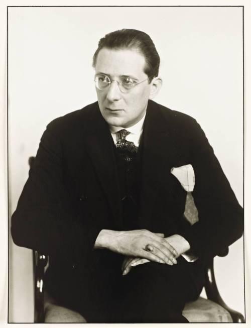 L'écrivain et critique de théâtre Franz Paul Brückner, 1926.