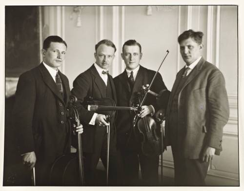 Le Quartet Havemann, 1923.