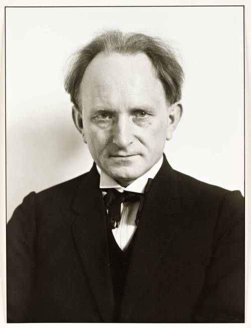 Autoportrait d'August Sander, 1925.